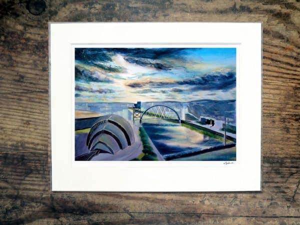 Glasgow Panorama print (1)