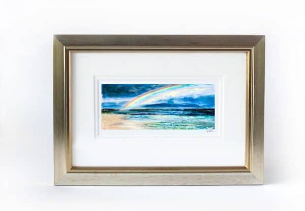 Iona rainbow print