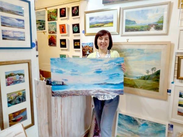 Scottish Island Art fundraiser prize