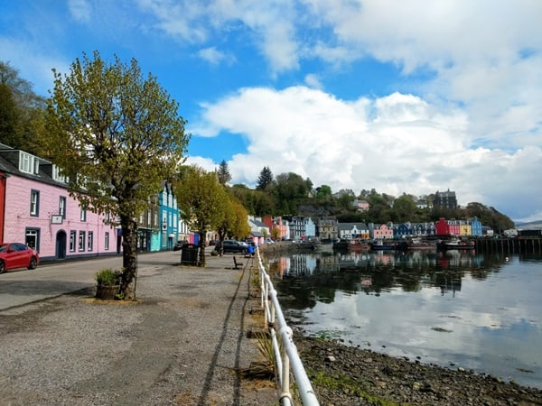 Tobermory during Covid19 by Scottish Island Art